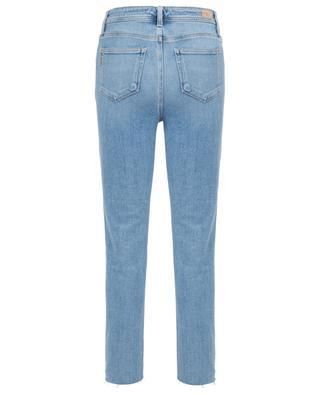 Verkürzte Jeans Sarah Slim Twist Seam Fray PAIGE