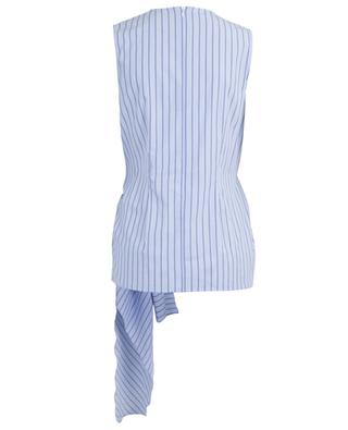 Alicia draped striped top JOSEPH