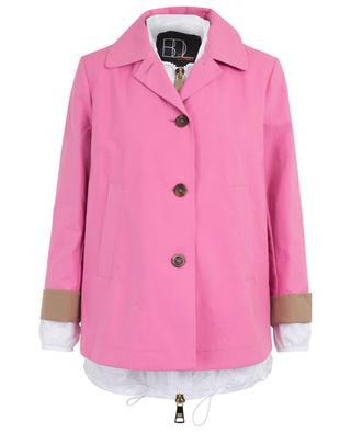 Windbreaker and A-line coat set BAZAR DELUXE