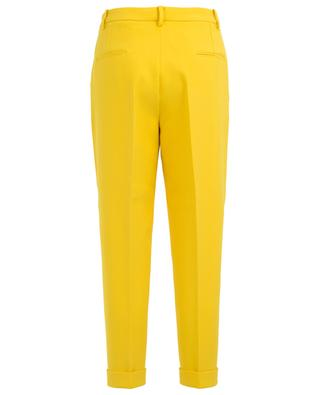 Cropped tapered leg trousers N°21