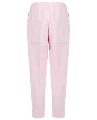 Pantalon raccourci avec bandes contrastées N°21