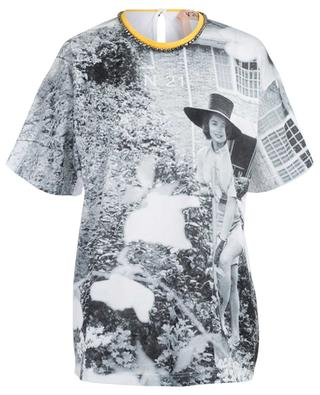Boyfriend-T-Shirt mit Fotoprint N°21