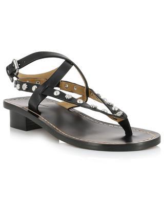 Sandalen im Flip-Flop-Stil mit Nieten Jings ISABEL MARANT