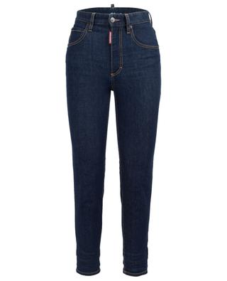Skinny-Fit Jeans mit hoher Taille Twiggy DSQUARED2