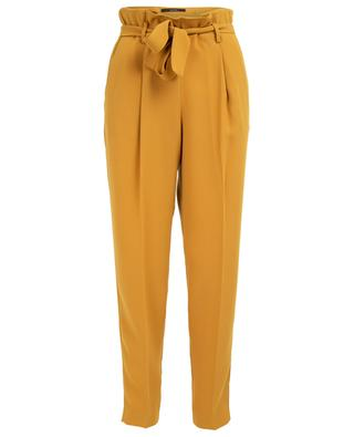 Straight paperbag style trousers WINDSOR