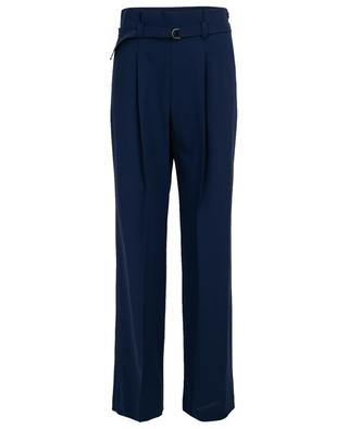 Virgin wool wide leg trousers WINDSOR