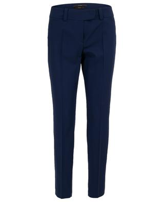 Straight virgin wool trousers WINDSOR