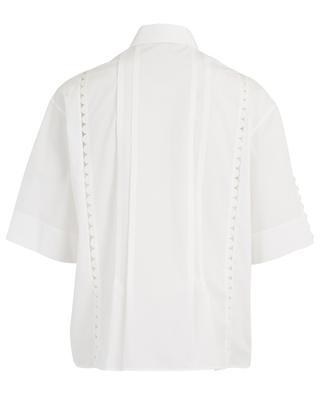 Hemd aus Baumwolle mit Muschelsäumen AKRIS PUNTO