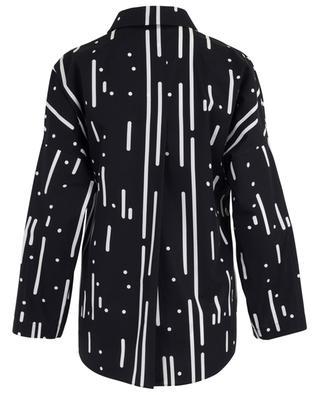 Bedruckte Bluse aus Baumwolle AKRIS PUNTO