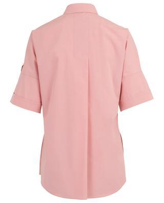 Chemise à manches courtes en coton AKRIS PUNTO