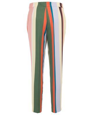 Pantalon rayé Maiko Memphis Glass AKRIS PUNTO
