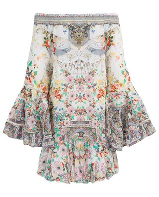 Time After Time printed silk dress AGENT CAMILLA