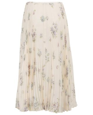 Abbot Vita floral silk pleated skirt JOSEPH