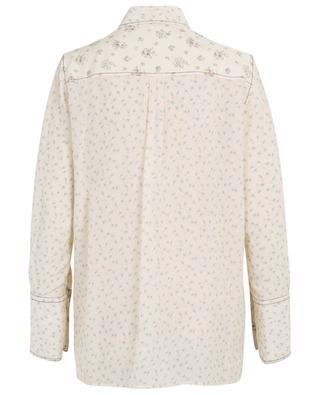 Mason Woolf Patchwork loose floral silk shirt JOSEPH