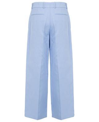 Fade wide-leg ramie and cotton trousers JOSEPH