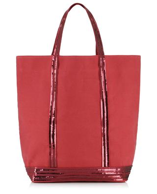 Large canvas tote bag with sequins VANESSA BRUNO