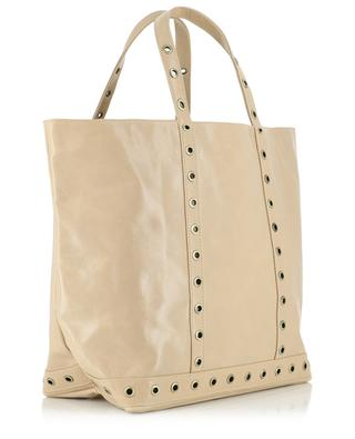Medium leather tote bag VANESSA BRUNO