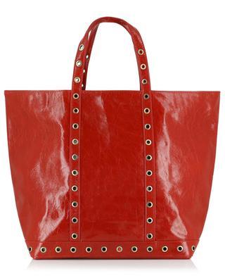 Medium leather tote bag VANESSA BRUNO