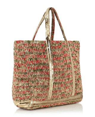 Shopping-Tasche aus Raphia Medium VANESSA BRUNO