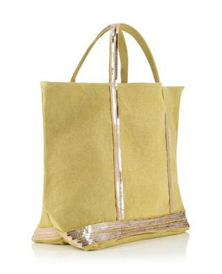 Sequins adorned canvas tote bag VANESSA BRUNO