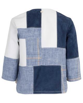 Patchwork lightweight jacket LORENA ANTONIAZZI