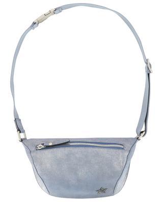 Glitter suede belt bag with star LORENA ANTONIAZZI