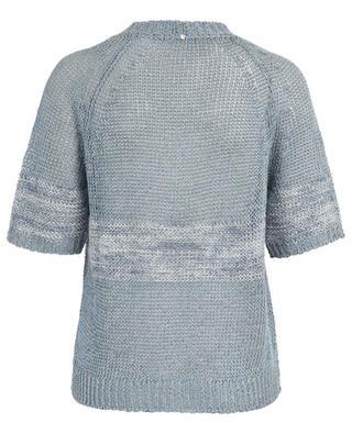 Lochstrick-Pullover aus Leinenmix LORENA ANTONIAZZI
