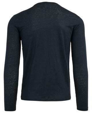 Long-sleeved linen T-shirt MAJESTIC FILATURES