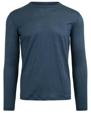 Long-sleeved linen T-shirt MAJESTIC FILATURES