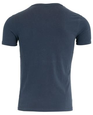 T-shirt col V en coton stretch MAJESTIC FILATURES