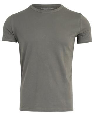 Round neck cotton T-shirt MAJESTIC FILATURES