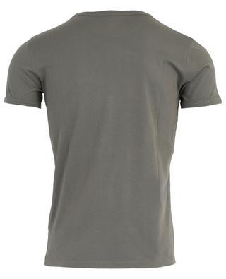 T-shirt en coton col rond MAJESTIC FILATURES