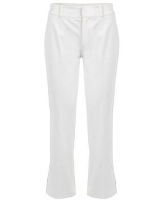 Pantalon raccourci évasé en gabardine stretch SLY 010