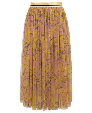 Octopus printed tulle skirt SLY 010