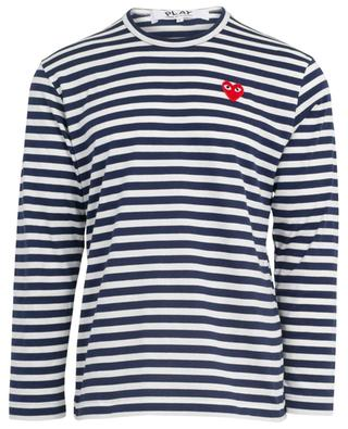 Striped long-sleeved T-shirt COMME DES GARCONS PLAY