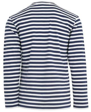 Langarm-T-Shirt mit Streifen COMME DES GARCONS PLAY