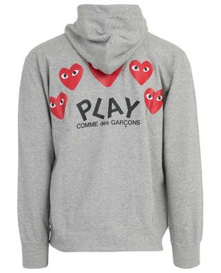 Heart zip up hoodie COMME DES GARCONS PL