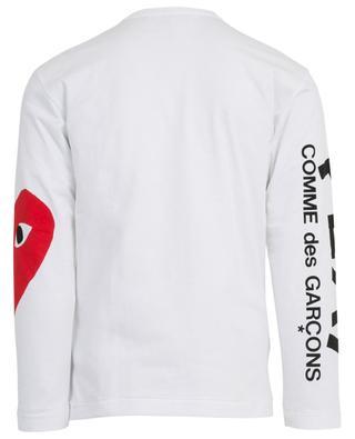 Printed long-sleeved T-shirt COMME DES GARCONS PL