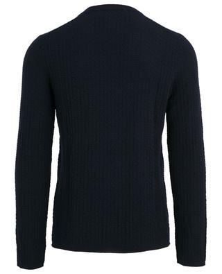 Textured wool jumper COMME DES GARCONS SHIRT