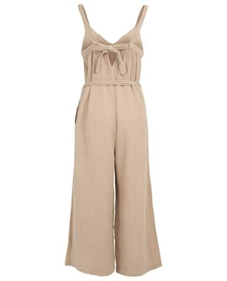 Martini crinkle effect jumpsuit SACK'S
