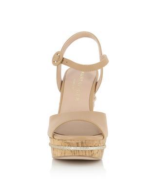 Ally glitter detail wedge sandals KURT GEIGER LONDON