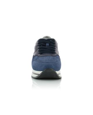 H222 leather and suede sneakers HOGAN