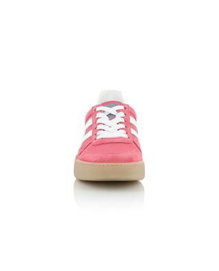 Sneakers aus Wildleder und Stoff H357 Retro Volley HOGAN