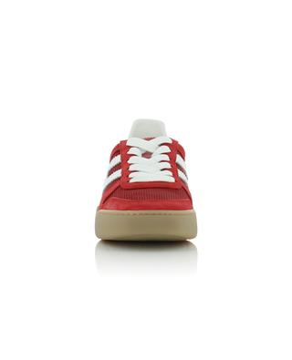H357 Retro Volley suede and fabric sneakers HOGAN