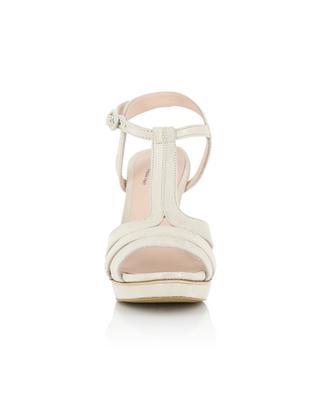 Sandalen aus Glitter-Wildleder Bikini REPETTO