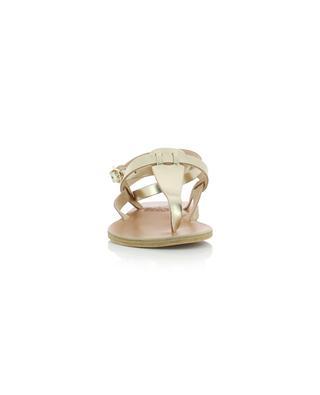 Sandales en cuir métallisé Estia ANCIENT GREEK SANDALS