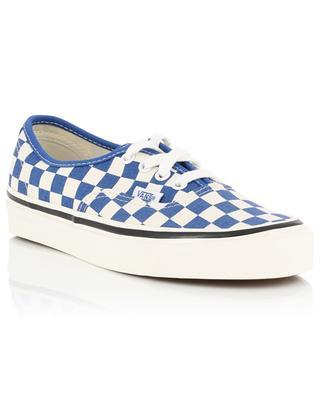 Niedrige Sneakers mit Schachbrettmuster Authentic 44 Dx VANS