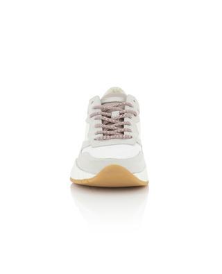 Niedrige Sneakers aus Stoff und Wildleder Magnetic CRIME