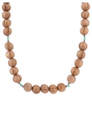 Sautoir en perles Cèdre RITA & ZIA
