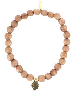 Bracelet en perles Feuille RITA & ZIA